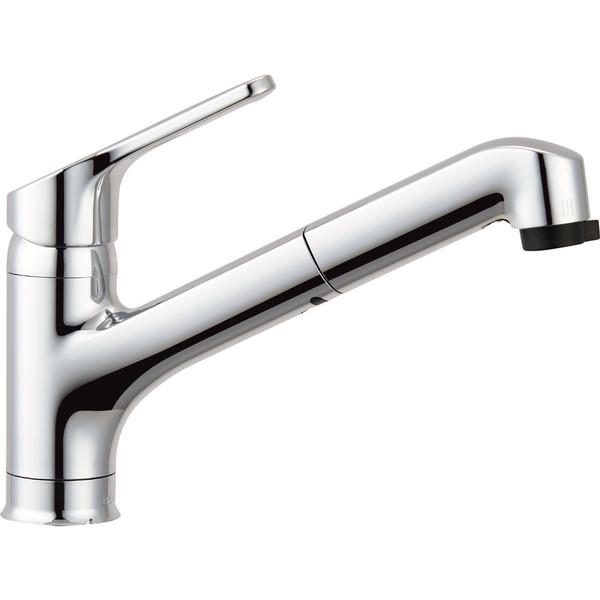 LIXIL ワンホールシングルレバー混合水栓 RSF-833YN (直送品)