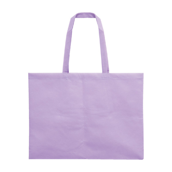 アーテック 作品収納バッグ大不織布/薄紫 11309 10枚 (直送品)