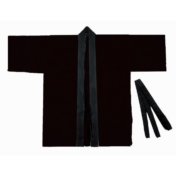 アーテック カラー不織布ハッピ 子供用 S 黒 1302 5枚 (直送品)