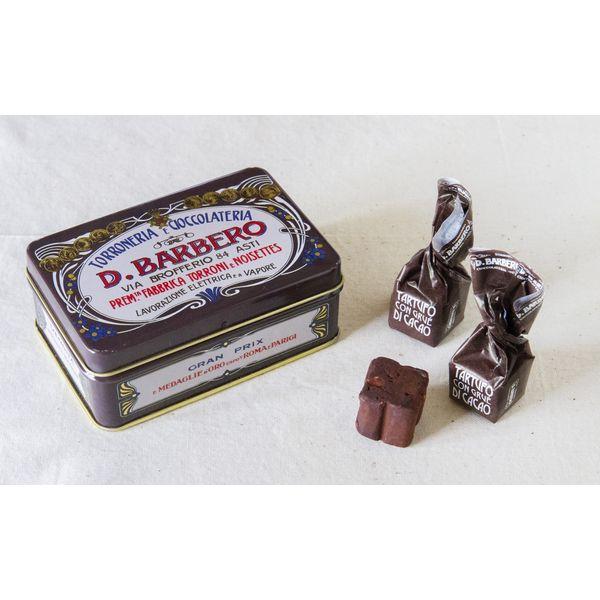 バルベロ トリュフチョコ カカオミニ缶