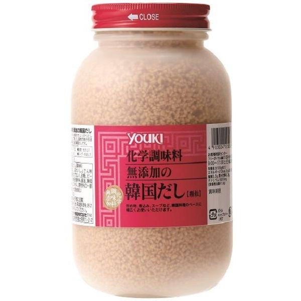 化学調味料無添加の韓国だし 400g