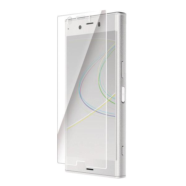 ELECOM Xperia XZ1 Compact/フルカバーフィルム/反射防止 PD-SO02KFLR 1個 (直送品)