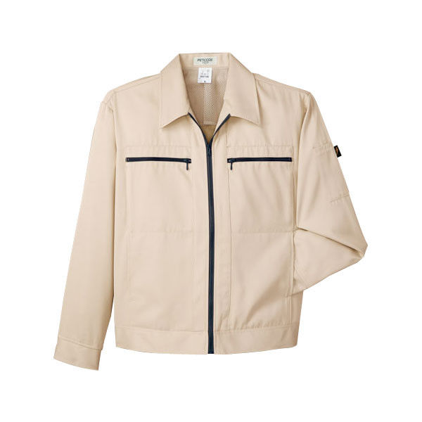 明石スクールユニフォームカンパニー 男女兼用ジャケット アイボリー 5L UN014G-1-5L (直送品)