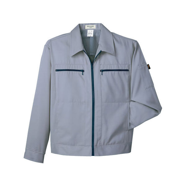 明石スクールユニフォームカンパニー 男女兼用ジャケット グレー LL UN014G-2-LL (直送品)