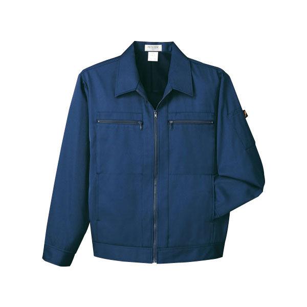明石スクールユニフォームカンパニー 男女兼用ジャケット ネイビー EL UN014G-3-EL (直送品)