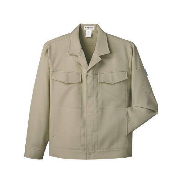 明石スクールユニフォームカンパニー 男女兼用ジャケット アースグリーン 4L UN051-15-4L (直送品)