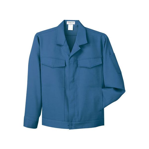 明石スクールユニフォームカンパニー 男女兼用ジャケット ブルーグレー 5L UN051-61-5L (直送品)