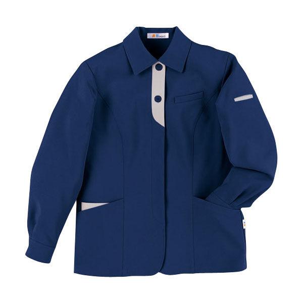 明石スクールユニフォームカンパニー レディースジャケット ネイビー 19 UN1308-7-19 (直送品)