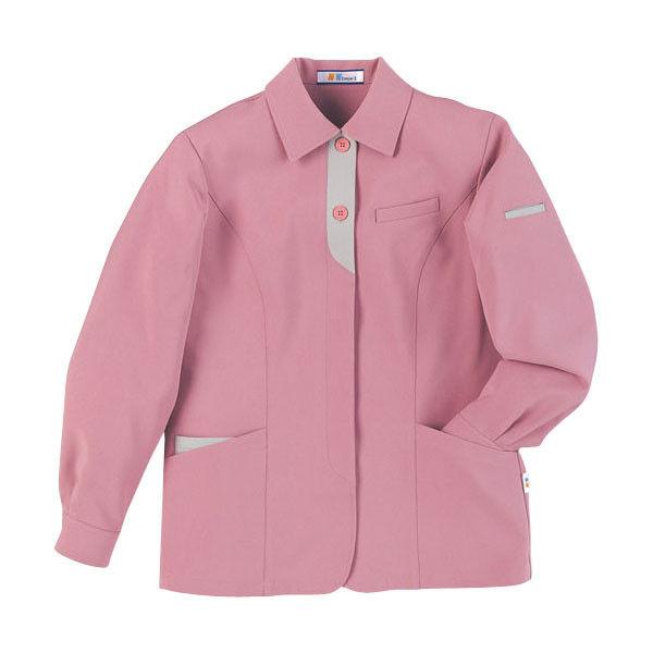 明石スクールユニフォームカンパニー レディースジャケット ピンク 15 UN1308-82-15 (直送品)