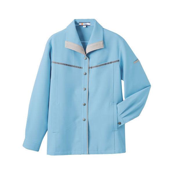 明石スクールユニフォームカンパニー レディースジャケット スカイブルー 17 UN1315-6-17 (直送品)