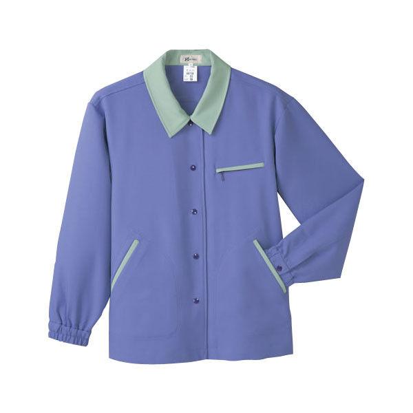 明石スクールユニフォームカンパニー レディースジャケット バイオレット 17 UN158-85-17 (直送品)