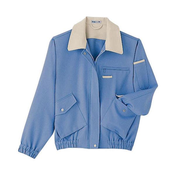 明石スクールユニフォームカンパニー レディースブルゾン ブルー 15 UN1689-6-15 (直送品)