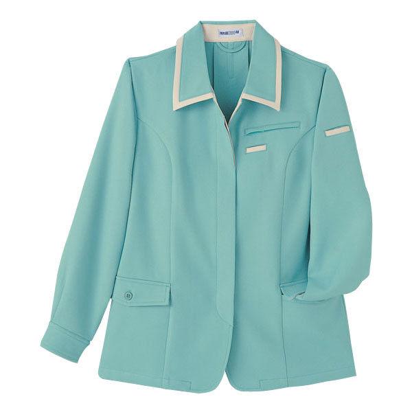 明石スクールユニフォームカンパニー レディースジャケット グリーン 19 UN169-10-19 (直送品)
