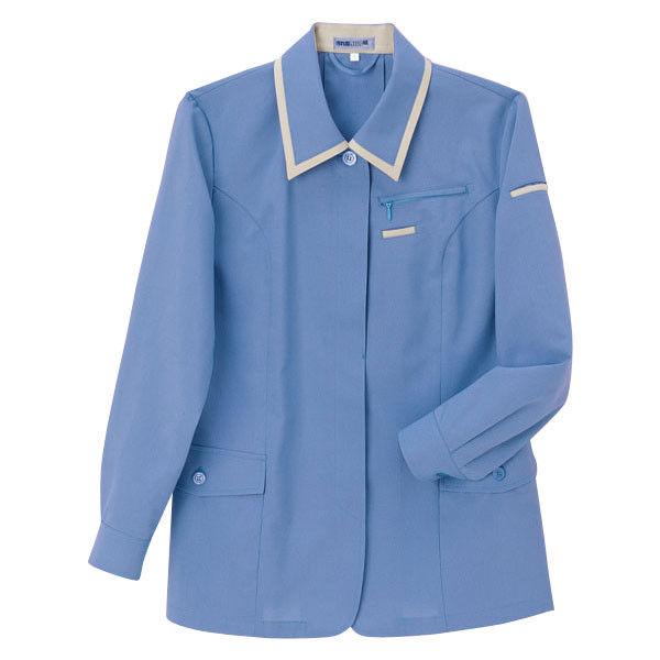 明石スクールユニフォームカンパニー レディースジャケット ブルー 7 UN1906-6-7 (直送品)