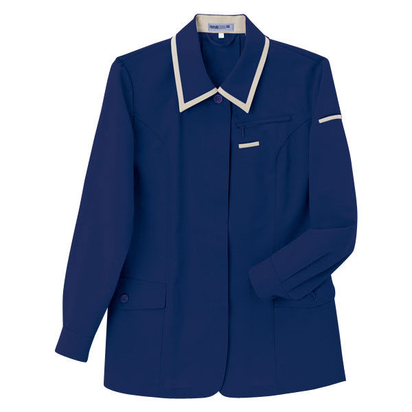 明石スクールユニフォームカンパニー レディースジャケット ネイビー 7 UN1906-7-7 (直送品)