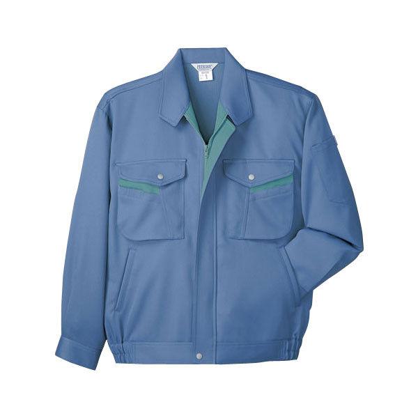 明石スクールユニフォームカンパニー 男女兼用ブルゾン ブルー M UN338-6-M (直送品)