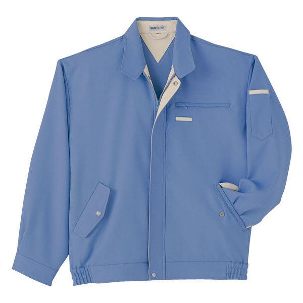 明石スクールユニフォームカンパニー 男女兼用ブルゾン ブルー LL UN430-6-LL (直送品)