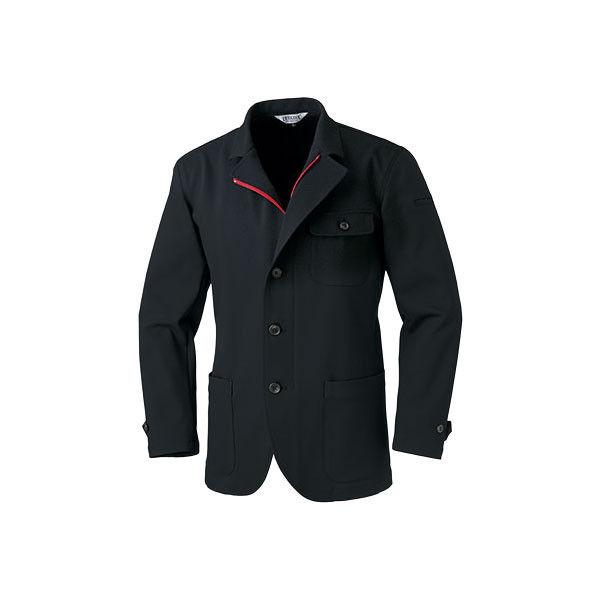 明石スクールユニフォームカンパニー 男女兼用ジャケット ブラック S UN5101-0-S (直送品)