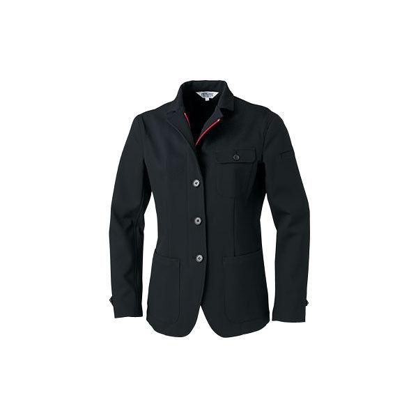 明石スクールユニフォームカンパニー レディースジャケット ブラック 7 UN5301-0-7 (直送品)
