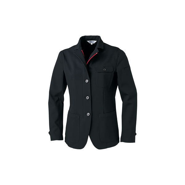 明石スクールユニフォームカンパニー レディースジャケット ブラック 9 UN5301-0-9 (直送品)