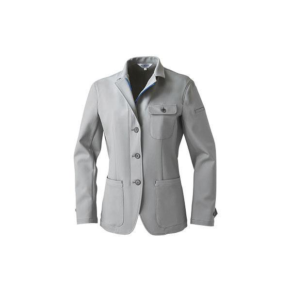 明石スクールユニフォームカンパニー レディースジャケット グレー 15 UN5301-4-15 (直送品)