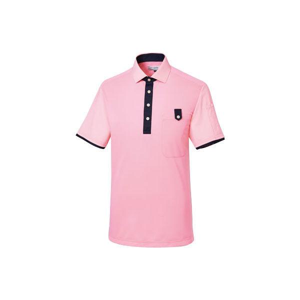 明石スクールユニフォームカンパニー プルオーバーシャツ(男女兼用) ピンク L UZQ726-14-L (直送品)