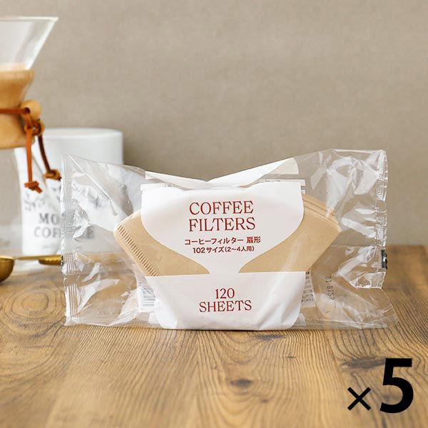 コーヒーフィルター102 120枚×5