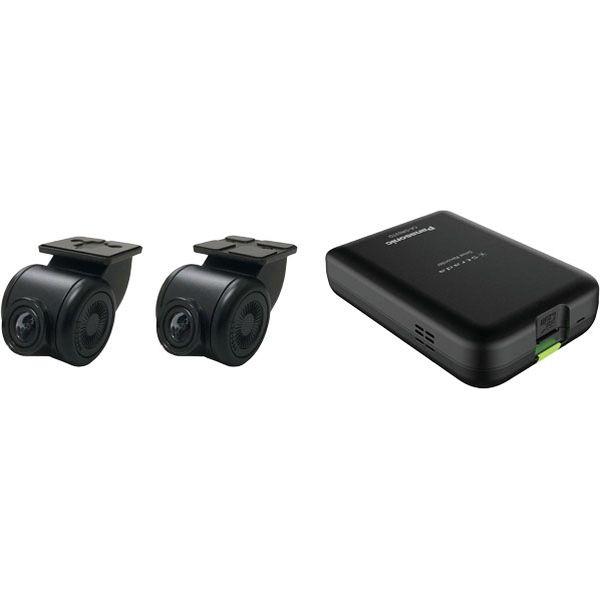 パナソニック カーナビゲーション19モデルF1/RX/REシリーズ用 前後方録画2カメラドライブレコーダー CA-DR03TD 1個(直送品)