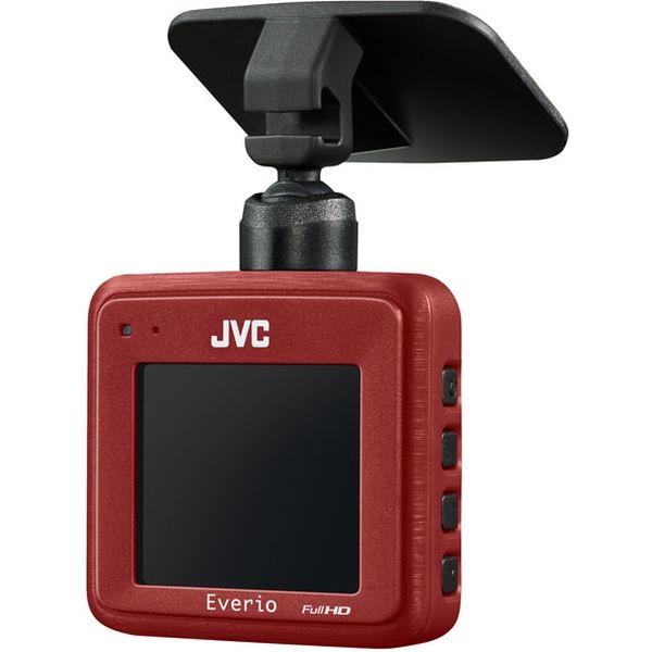 JVCケンウッド ドライブレコーダー レッド GC-DRJ1-R 1台(直送品)