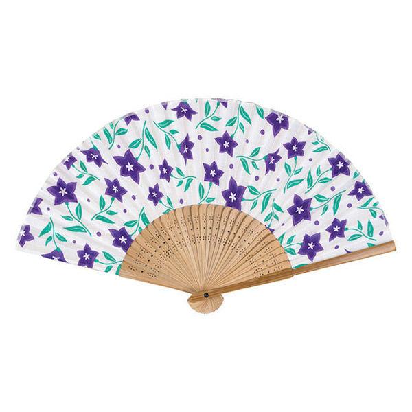 サクラクレパス さくら扇子紫色(桔梗)