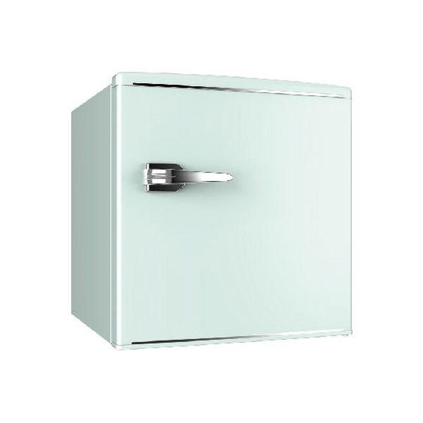 ウィンコド 1ドアレトロ冷蔵庫 48L グリーン RT-148G 1台(直送品)