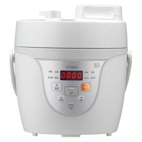 シロカ マイコン電気圧力鍋 1台