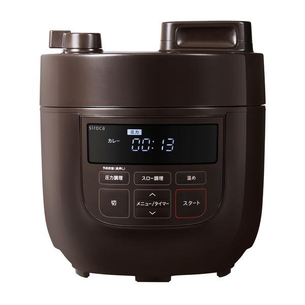 シロカ 電気圧力鍋 1台SPーD131T