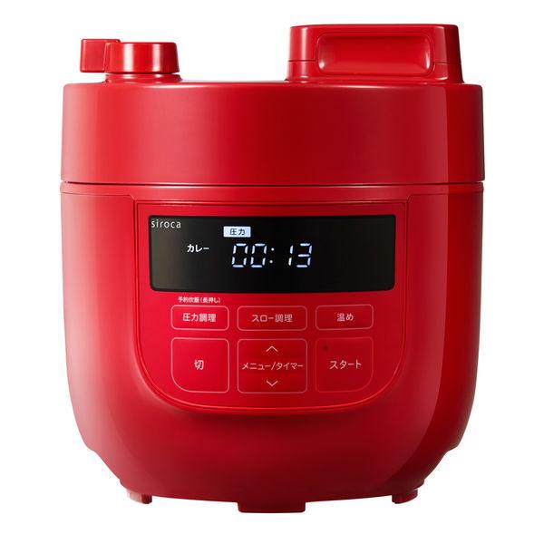 シロカ 電気圧力鍋 1台SPーD131R