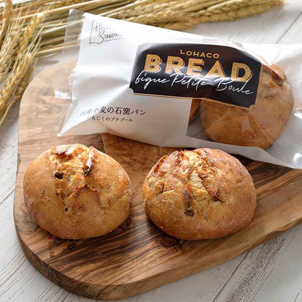 LOHACO BREAD国産小麦の石窯パン いちじくのプチブール 1袋 敷島製パン ロハコブレッド