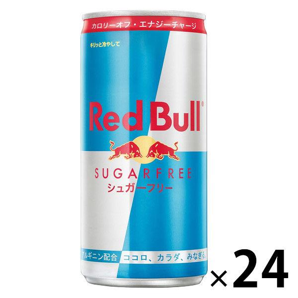 アスクル】レッドブル シュガーフリー 185ml 1箱(24缶入) 通販 ...
