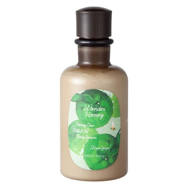 ワンダーハニーボディミルクグリーン柚子