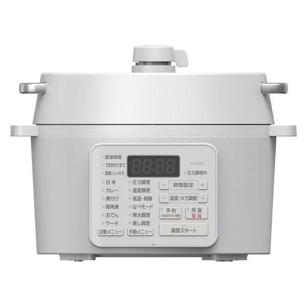 アイリス 電気圧力鍋 PC-MA2-W