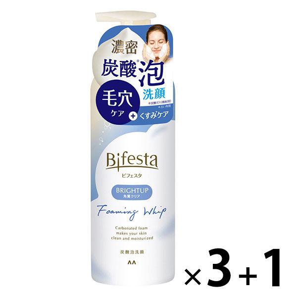 ビフェスタ 泡洗顔 ブライトアップ×4