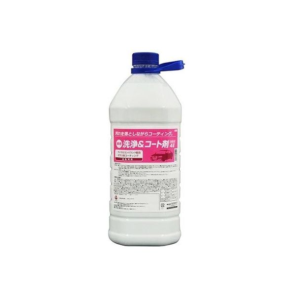 プロスタッフ 業務用 車用 洗浄&コート剤 4L 664(取寄品)