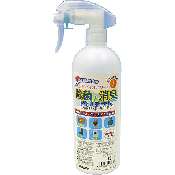 天然バイオパワーの除菌と消臭20倍希釈済