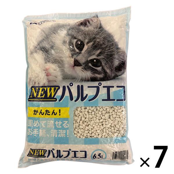 NEWパルプエコ 紙砂 6.5L 7袋