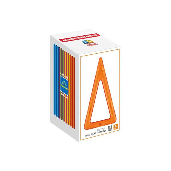 ボーネルンド MF713018Jマグ・フォーマー 二等辺三角形12ピース 4541356031790(直送品)