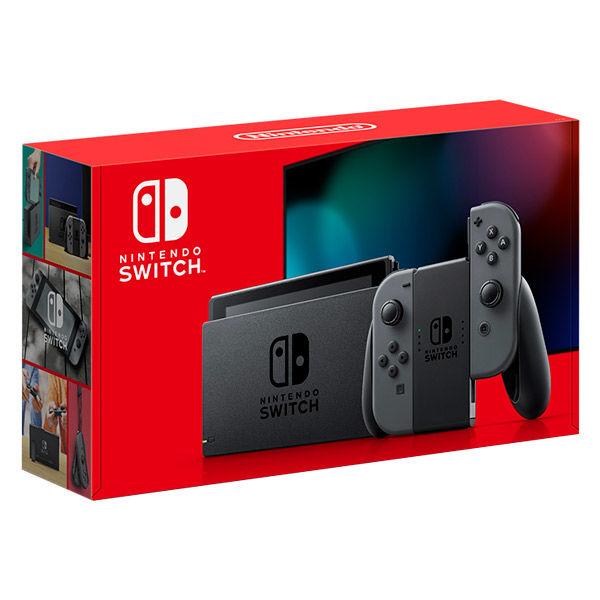 任天堂 Nintendo Switch 本体 (ニンテンドースイッチ) Joy-Con(L)/(R) グレー