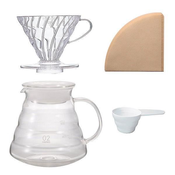 ハリオコーヒーブリューイングセット
