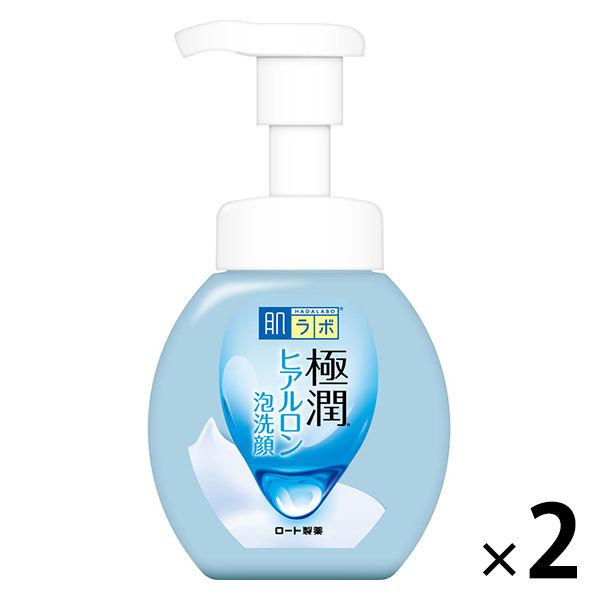 肌ラボ 極潤 ヒアルロン泡洗顔 160mL ×2個 ロート製薬