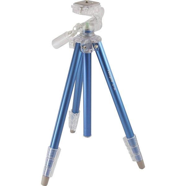 Fotopro 小型4段三脚 ブルー C-3I BLUE(直送品)