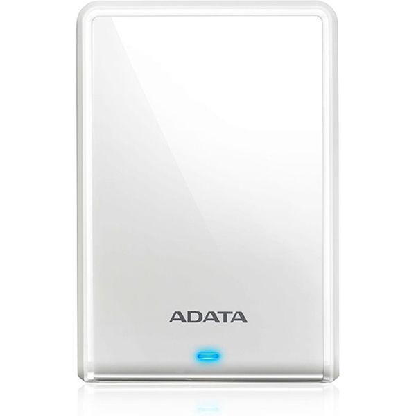 ADATA USB3.1 ポータブルHDD 2TB ホワイト AHV620S-2TU31-CWH(直送品)