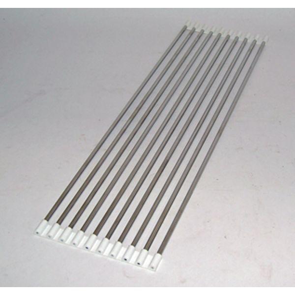 杉山金属 スノココロ 57cm10本 白 KS-2821(直送品)