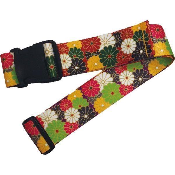 日本エイテックス スーツケース用ストラップ 鞄帯 紫菊 WPJ-106(直送品)